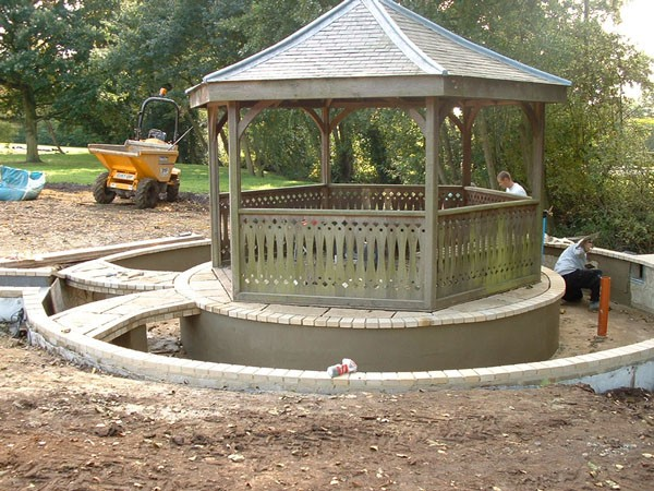 Formal Water Gardens for an Old Rectory in Marks Hall, Essex