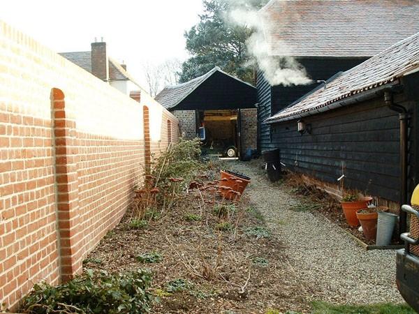 Medium Sized Gardens for a Barn Conversion in Fyfield, Essex