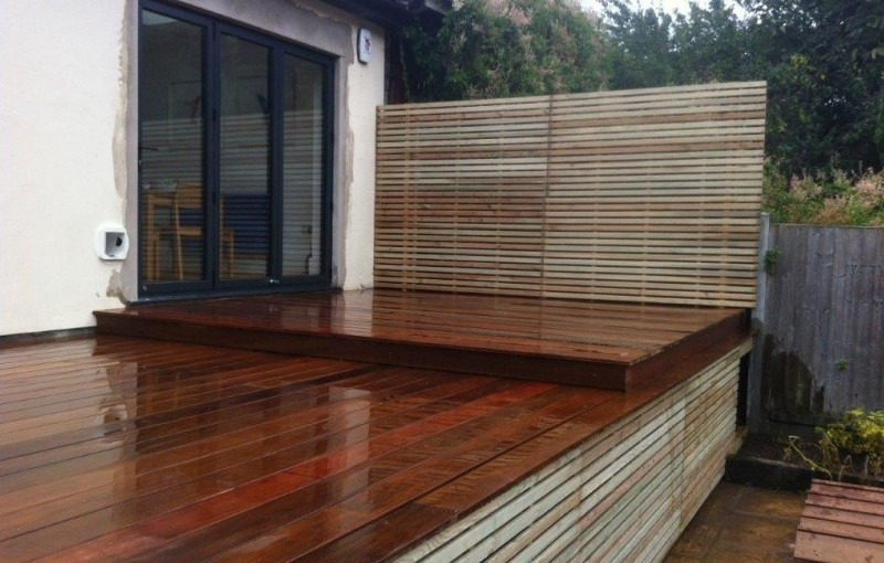 Large Contemporary Deck Project in Stock, Essex