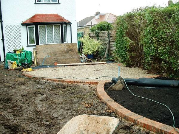 Medium Sized Garden for a Suburban Home in Buckhurst Hill