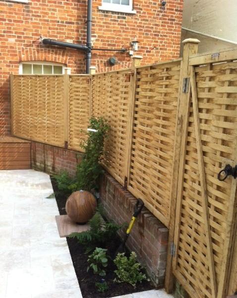 Redesign of a pretty courtyard garden for Garden redesign