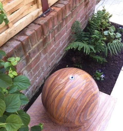 Redesign of a Pretty Courtyard Garden in Dunmow, Essex