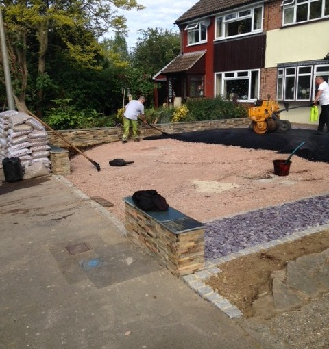 New Resin Bound Permeable Driveway in Great Dunmow