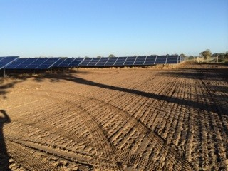 Grounds Maintenance at a New Solar Farm in Reydon, Essex