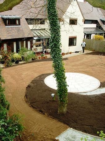 A Woodland Garden in Stock, Essex